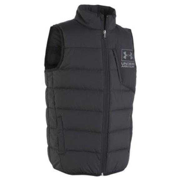 90886b6f05109 Under Armour Jackets & Coats   Swarmdown Vest   Poshmark